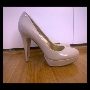 G by Guess stiletto heels - nude color, size 9